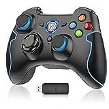 EasySMX Mando para PC, [Regalos] Mando Inalámbrico PS3 Gamepad Wireless...