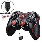 Maegoo Mando Inalámbrico para Juegos, 2.4GHz Bluetooth Game Controller...